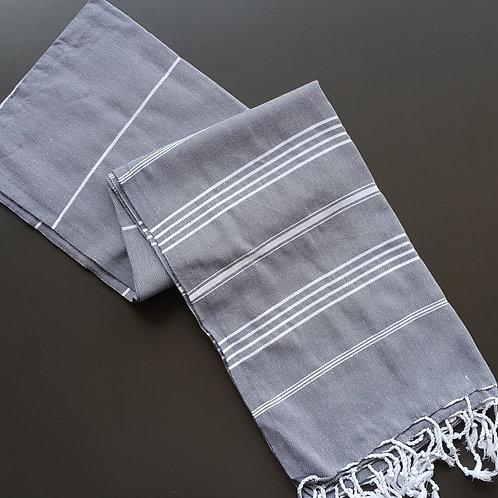 Peshtemal - Medium Grey