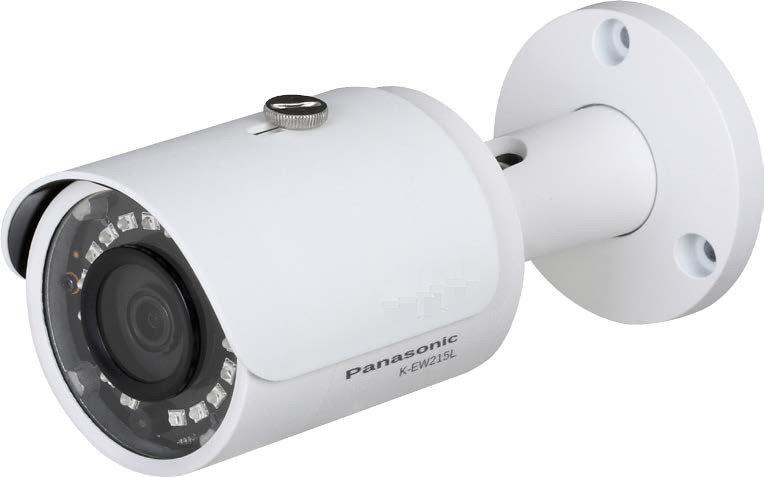 K-EW215L01( VariableLens ) Panasonic IP ฺBullet Full HD, H265 กล้องกระบอก 2 MP
