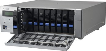 WJ-NX400 เครื่องบันทึกเน็ตเวิร์ก 64 ช่อง Panasonic NVR 64 Ch.,9 HDD