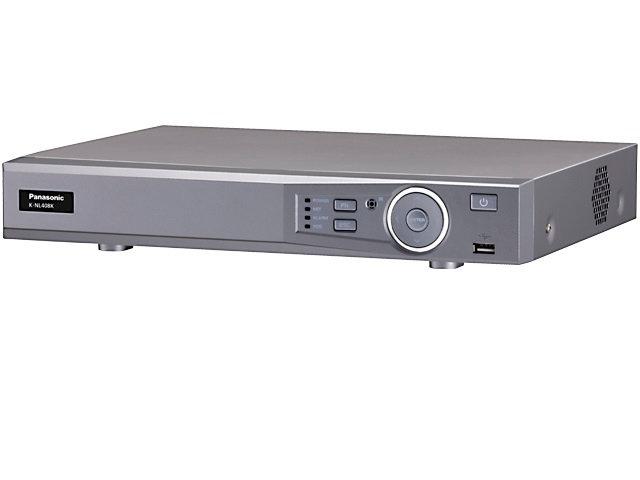 K-NL408K/G เครื่องบันทึกกล้อง IP 8 ช่อง Panasonic NVR 8 Ch.(PoE), H265