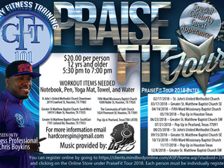 Glory Fitness - PraiseFit Tour