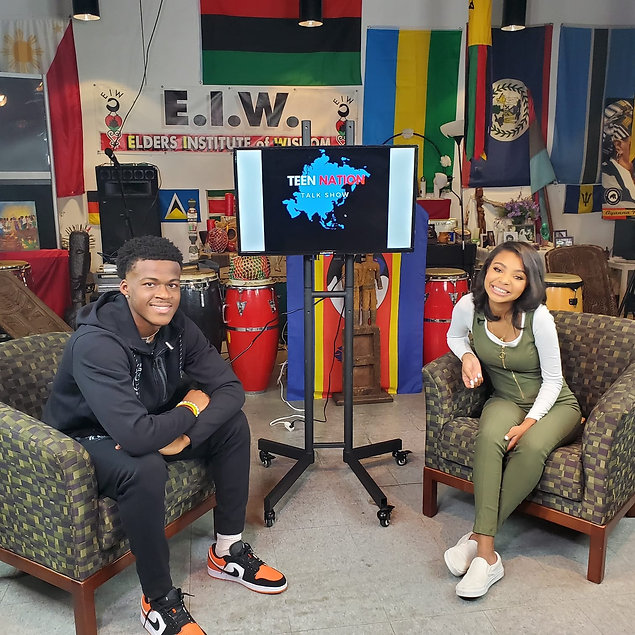 Teen Nation Talk Show Pictures with stud