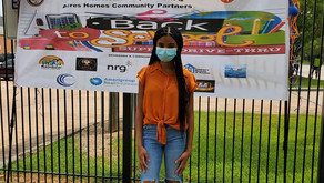 The Teen Nation Talk Host, Saniya Symone Supports The Acares Home Back To School Supply Drive-Thru