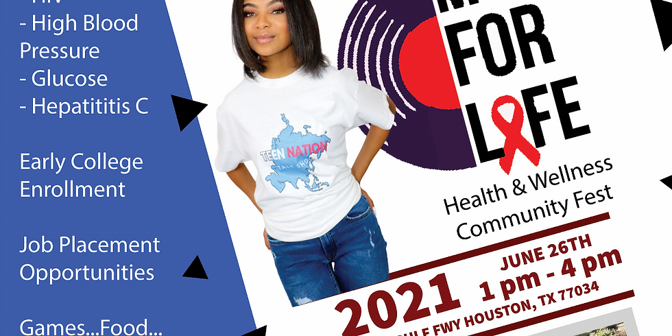 Music For Life Health and Wellness Community Fest- Day 2