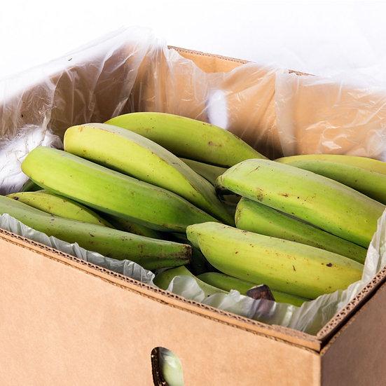 Box of Green plantain