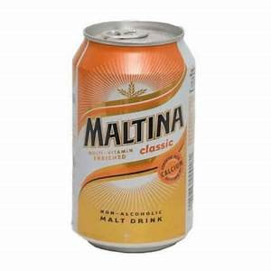 Maltina can drink