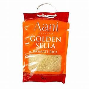 Aani Golden Sella Basmati Rice 5kg