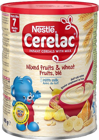 Cerelac Mixed Fruits & Wheat 400g