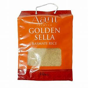 Aani Golden Sella Basmati Rice 10kg