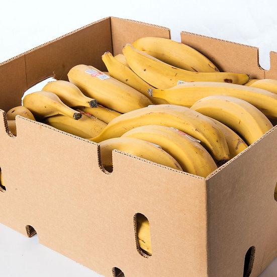 Box of yellow plantain