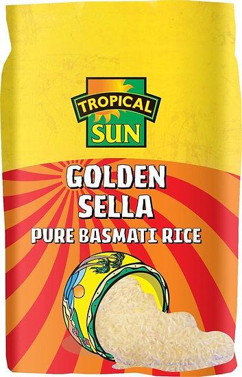 Tropical Sun Golden Sella Basmati Rice 5kg