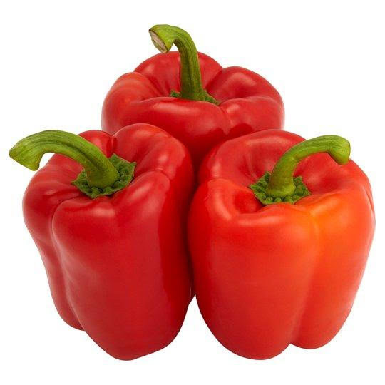 Red Tatashe (Red Bell Pepper) - Pack of 3