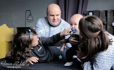 Семейная фотосессия. Backstage