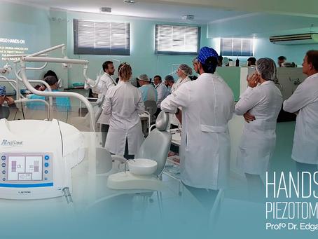 Hands-On na OPEM Bauru, Profº Dr. Edgard Franco.