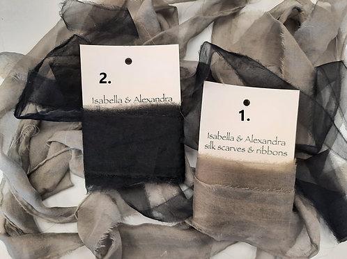 Grey and Black Ribbons