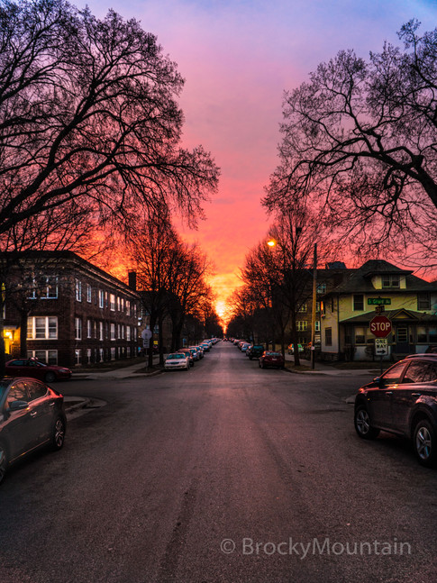 Uptown Minneapolis Sunrise