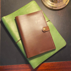 Selection of leather notebook covers