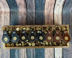 Large size shot shell keyrings