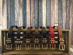 Range of Interchangeable buckle belts