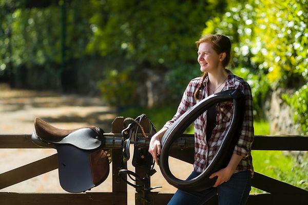 Lucy Cushley, Owner & Saddler of Saddlery Student.
