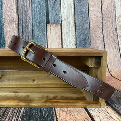 Bespoke Tooled Belt