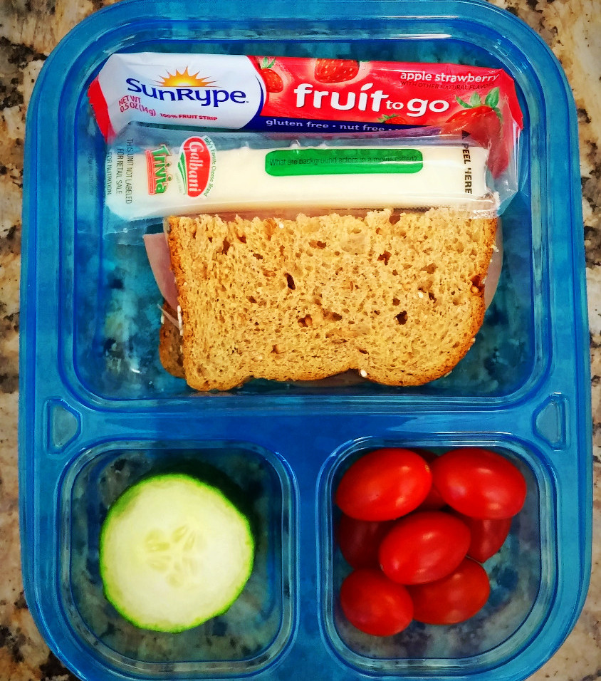 My Daughter Packs Lunch