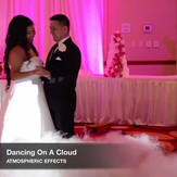 Adding Atmospheric Effects like our Dancing On A Cloud service to your package can totally transform your wedding experience!  | Blue Diamond Events Weddings | Columbia, MO