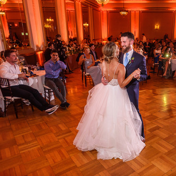 Your First Dance is sure to be a memorable one with Blue Diamond Events DJs.  | Blue Diamond Events Weddings | Columbia, MO