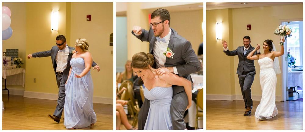 grand entrance, wedding party, bride and groom, newlyweds, kimball ballroom, blue diamond events, dj, columbia, mo, mid-mo, weddings, wedding moments, wedding photo, photography