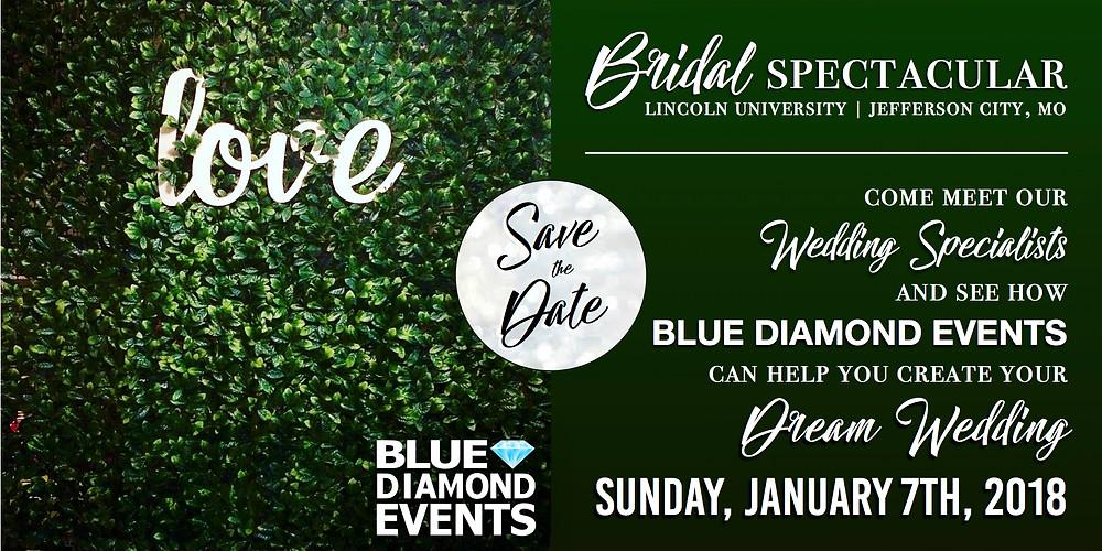 2018 Bridal Spectacular, Mid-MO, Missouri, bridal show, wedding show, jefferson city, mo, blue diamond events