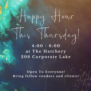 Happy Hour, The Hatchery, Jubilee Planning Studio, Blue Diamond Events, Wedding Vendors, Columbia, MO, Weddings, Planning, Food, Drink