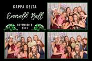 Kappa Delta Emerald Ball   Photo Booth  