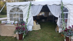Vintage Lace Tented Wedding