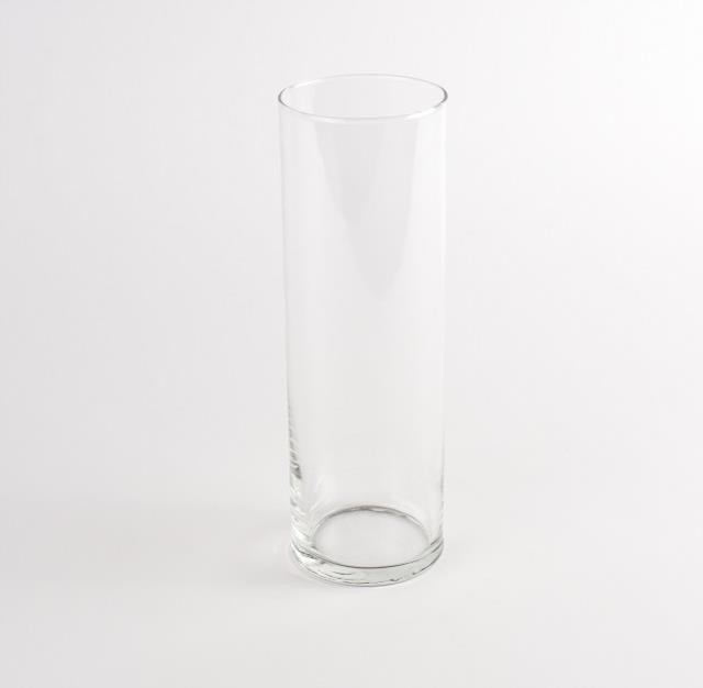 Vase, Cylinder, 10.5 in, Glass, Reception, Table, Floral Arrangements, Decor, Rentals, Event, Planning, Wedding, A-1 Party & Event Rentals, Columbia, MO, Blue Diamond Events