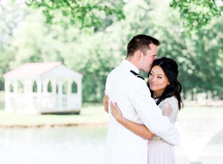 A Boho-Ethereal Lavender & Sage Wedding @ Glenn Acres Farm in Columbia, MO