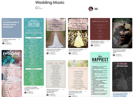 Planning Tips | Check Out Our Pinterest Wedding Music Board