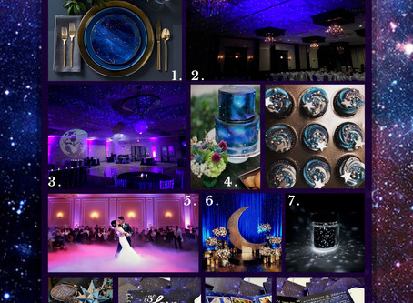 Get The Look | Starry Night Wedding Inspo