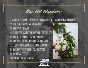Playlists | One Hit Wonders