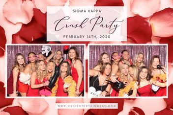 Sigma Kappa Photo Booth | XSIV Entertain