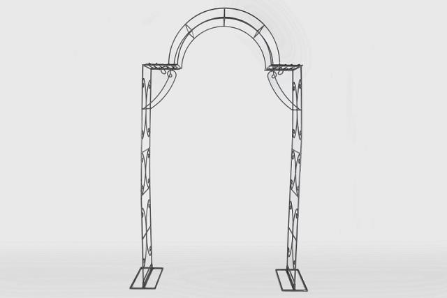 Arch, Metal, Ceremony, Decor, Rentals, Event, Planning, Wedding, A-1 Party & Event Rentals, Columbia, MO, Blue Diamond Events
