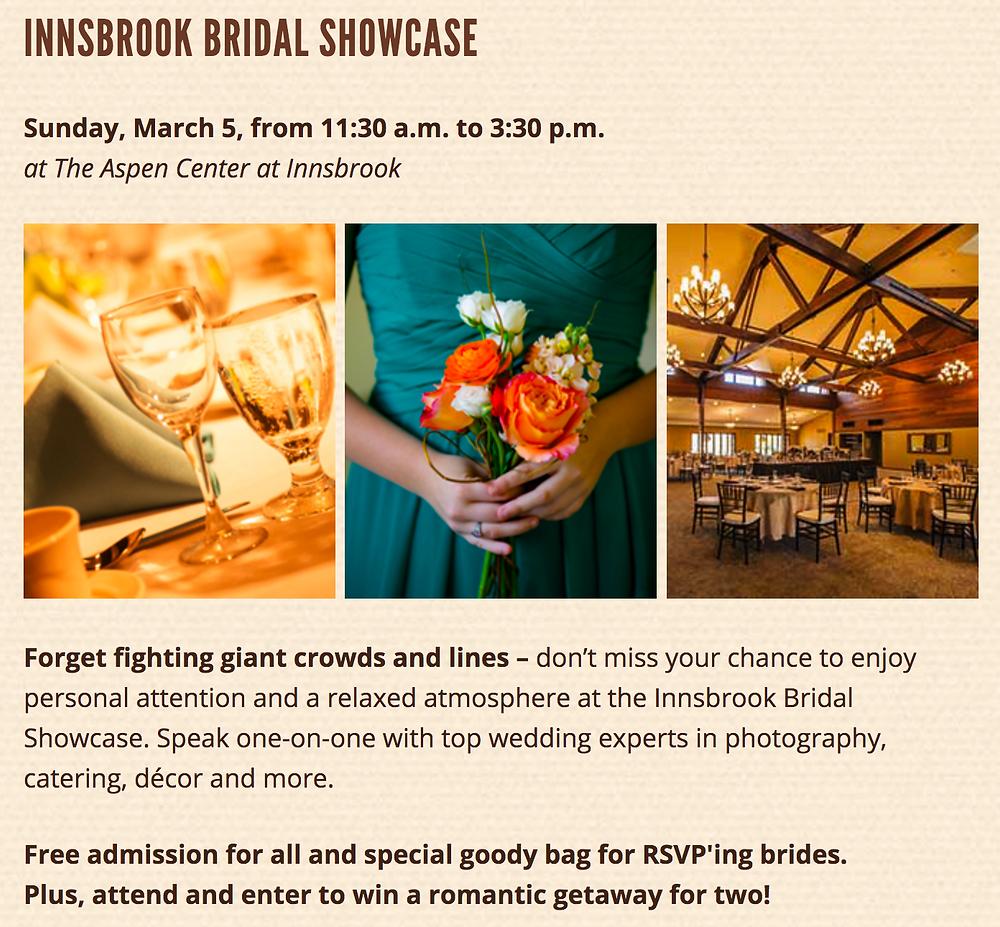Innsbrook Bridal Showcase, Innsbrook Resort, Wedding Shows, Mid-MO