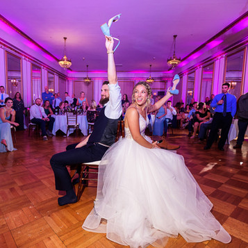 Games are a great way to interact with your guests and get the party started! | Blue Diamond Events Weddings | Columbia, MO