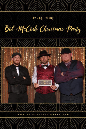 Art Deco Holiday Party | Photo Booth | X