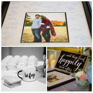 Photo Guest Book, Blue Diamond Events, DJ, Columbia, MO, Mid-MO, Kimball Ballroom, Weddings, Wifey