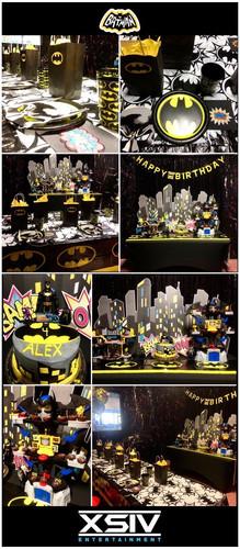 Batman Party Decor Design | XSIV Enterta