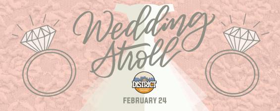 2019, wedding stroll, columbia, mo, the district, weddings