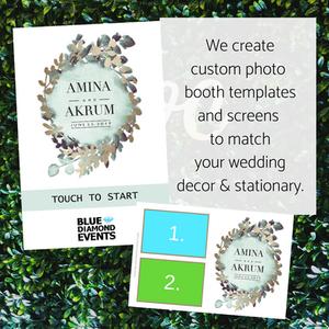 Modern, Design, Photo Booth, Template, 4x6, card, photo, Columbia, MO, Blue Diamond Events, Weddings, Wedding