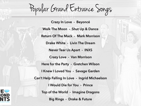 Playlists | 12 Popular Grand Entrance Songs - Something for Everyone