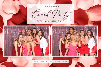 Crush Party Photo Booth | XSIV Entertain