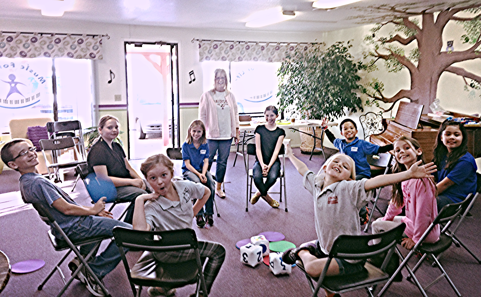 Group Class at Music for Life